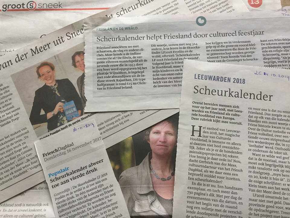 Gerbrich-van-der-Meer artikels Skuorkalinder LF2018 Fryslân en de wrâld